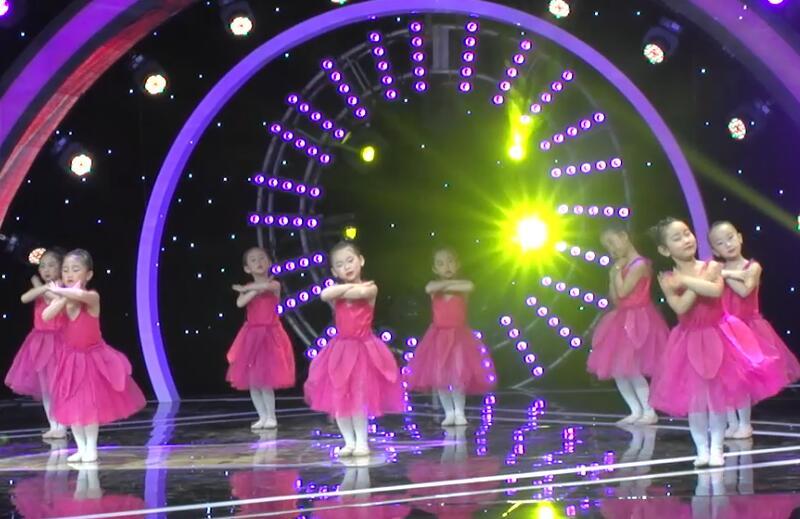 央视《广场舞金曲》节目演出儿童舞蹈视频《爱我你就抱抱我》
