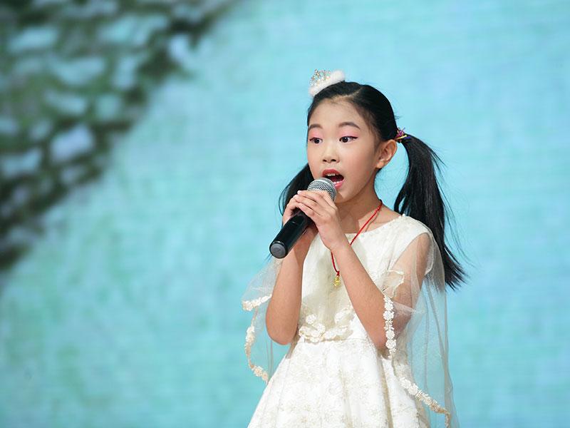 八八空间第三届《童年星梦想》李天禾歌曲独唱《天之大》