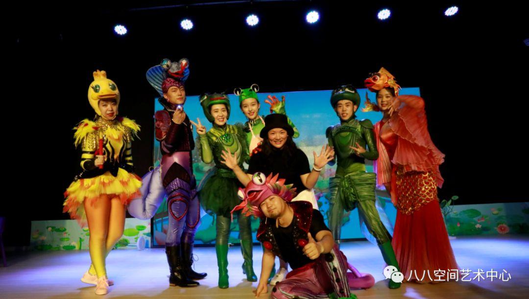 八八空间全新编演大型舞台励志童话剧《小蝌蚪找妈妈历险记》在北苑校区开业当天首演