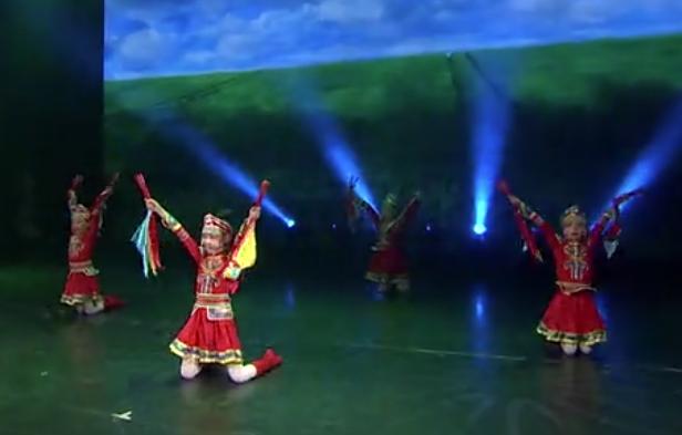 儿童舞蹈《草原情怀》,耶耶耶~