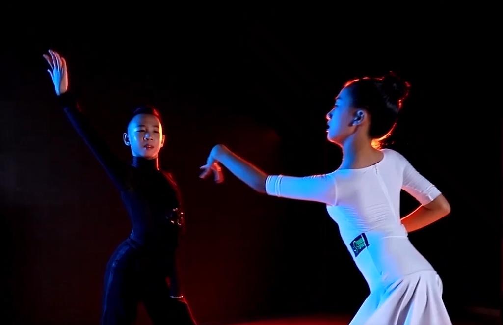 【八八空间】少儿拉丁舞恰恰学员作品展示(郭浩轩/杜明睿)